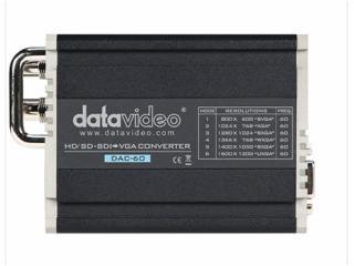 DAC-60-Datavideo洋铭 HD/SD-SDI转VGA转换器 DAC-60