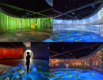 顏值與穩定俱全、畫質與性能兼備——64臺明基工程投影機點亮明顯陵人文旅游展館