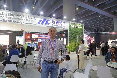专访深圳迈锐光电有限公司副总经理梁文骥先生