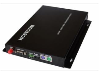 HC3711系列-VGA高清光端机带音频数据+PS2键盘鼠标