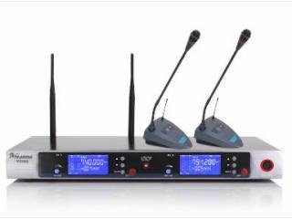 MC-802-U段真分级一拖二无线话筒 MC-802(会议式)