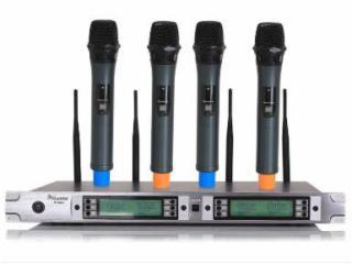 MC-804-会议系统设备-U段一拖四无线话筒 MC-804(手持式)