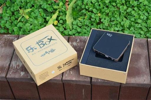 全球最有颜值的智能微投产品:VEZ乐BOX