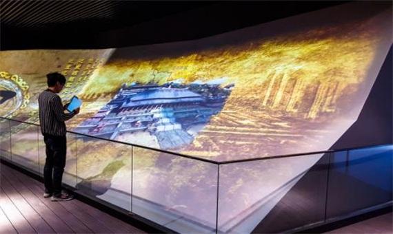 视美乐激光投影机工程案例赏析之陕西西咸规划馆