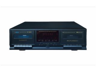 JC-W318K-立体声卡座