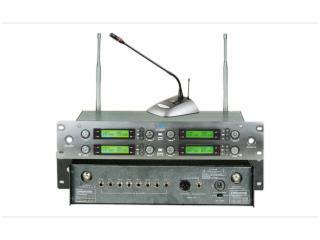 JC-9820-一拖八專業U段無線會議麥克風