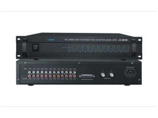 十二通道红外线语言分配系统主机-JC-901M图片