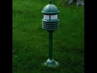 TM-808-古典帶LED七彩燈燈塔揚聲器