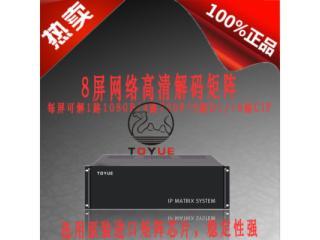 TY2048DL256-8Z-深圳图约 TOYUE 8屏H.264数字解码矩阵