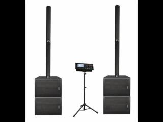 PA-DLS-內置20路數字調音臺音柱音響