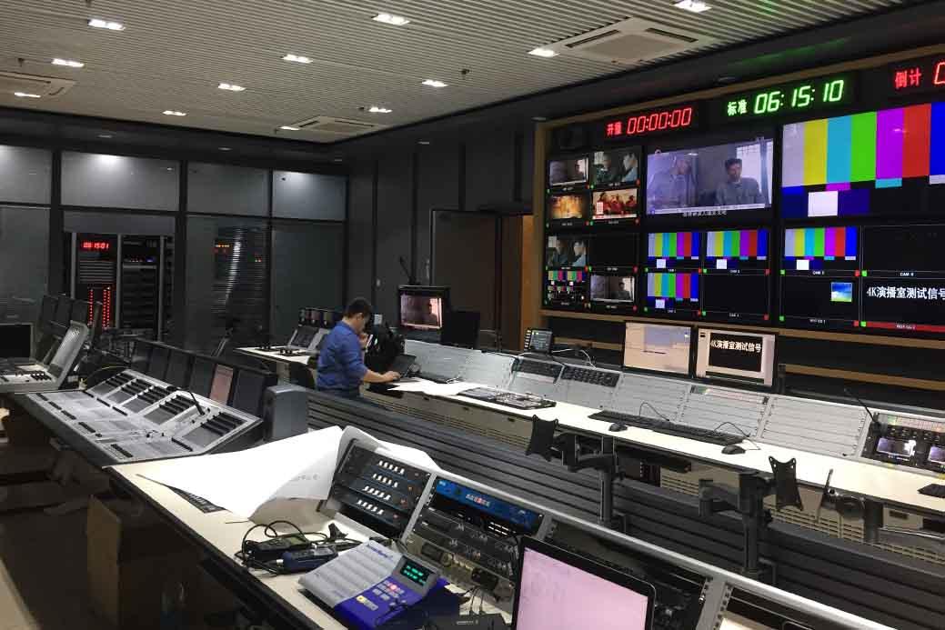 安恒利鼎力支持国内首家4K演播室