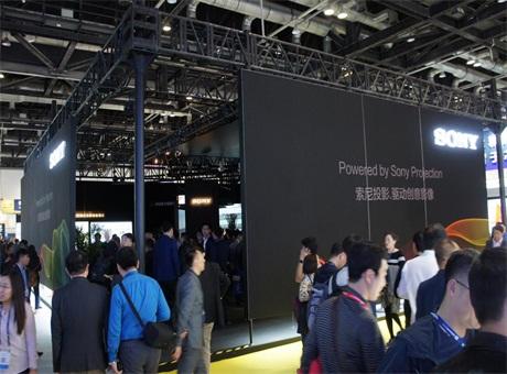 专业 ·创意 ·乐趣 索尼多彩显示方案闪亮IFC China 2017
