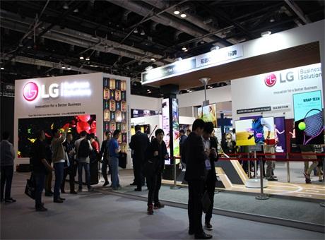 引领视觉革命 LG携全线商显产品亮相InfoComm China 2017