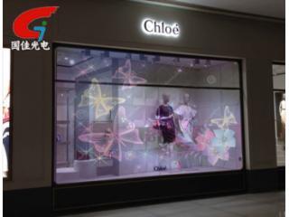 ph3.91-高清全彩橱窗led玻璃透明屏