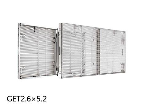 GET2.6-吉上润达 led透明租赁显示屏P2.6×5.2