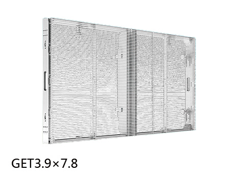 GET3.9-吉上润达橱窗高透明LED屏P3.9*7.8