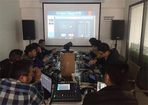 【技术课堂】直击音王DM20 数字调音台技术培训会