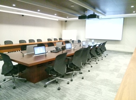 易科国际为深圳平安金融大厦打造会议室音频系统