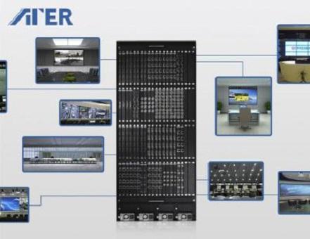 ATER高清混合矩阵为现代智慧化视频会议提供全面解决方案