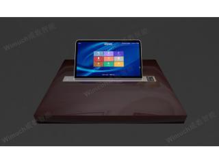 GTIM -173-17.3寸超薄锋刃电容屏一体升降终端