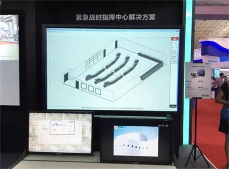 现场直击:第六届国防信息装备展 爱普生打造多款军用大屏方案