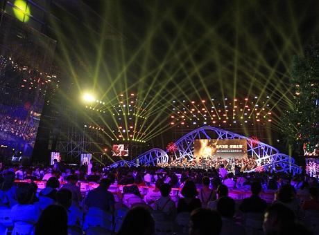 2017奥林匹克公园夏季音乐季,JBL VTX A12线阵列扬声器亚洲首演