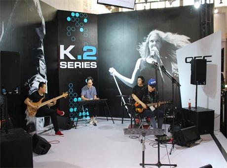 东方佳联PALM展再次出击  发布QSC K.2系列有源扬声器