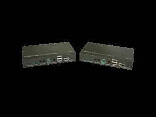 38209-林迪HDMI 4K&USB 2.0延长器