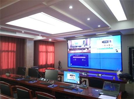 孝感市中级人民法院装备华音(HUAIN)HY-6600系列全数字会议系统