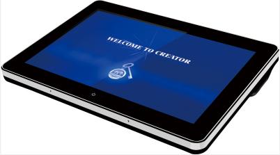8英寸手持WiFi画中画可编程触摸屏-CR-WiFi G7S图片