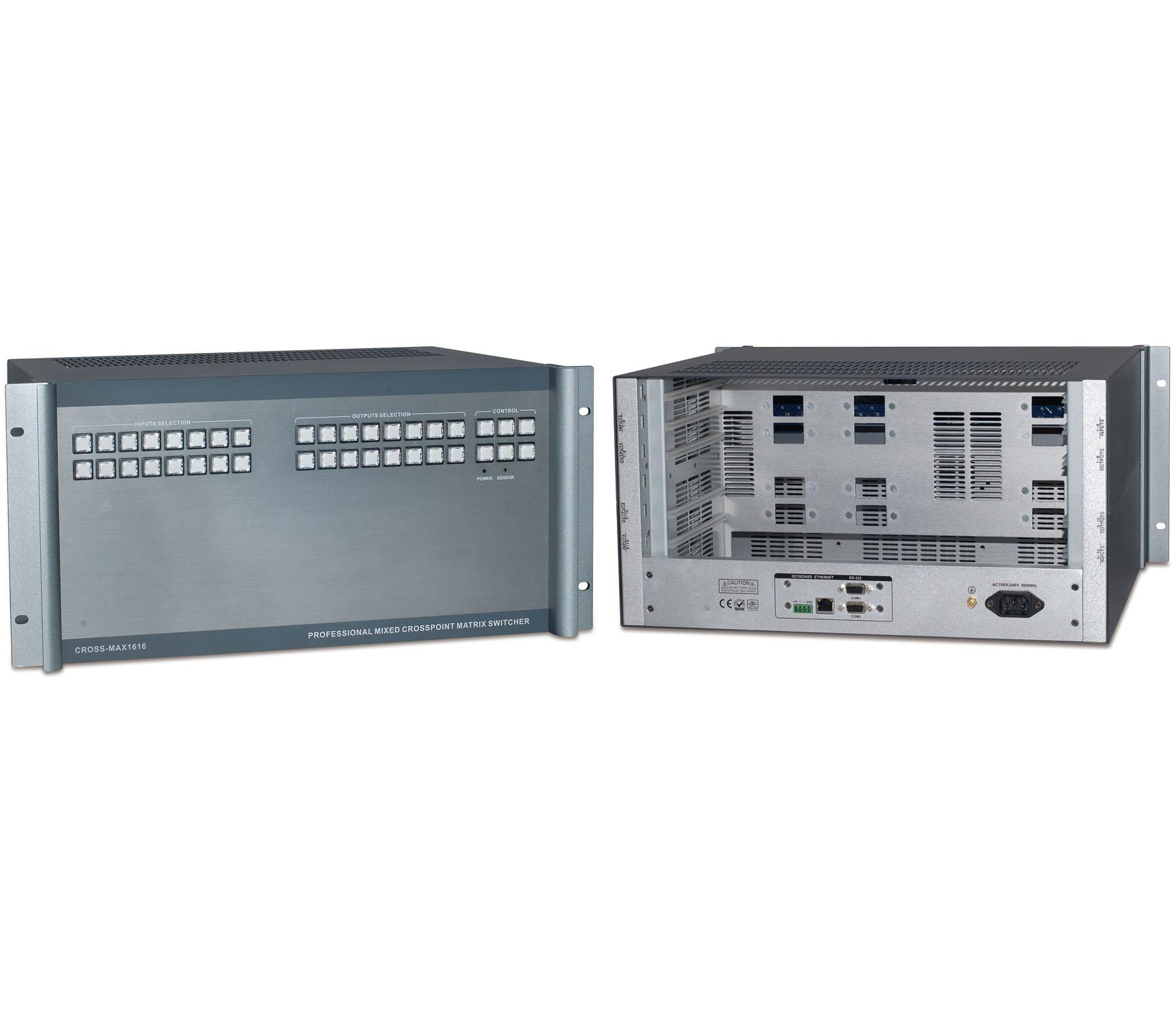 CROSS系列混合矩阵切换器-CROSS-MAX1616图片