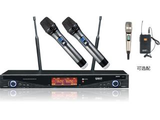 UR7666-一拖二无线话筒KTV麦克风