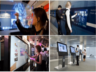 ZEEKONG-TSS-01-向正科技透明觸摸系統 互動櫥窗