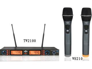 TW-2100-一拖二无线话筒