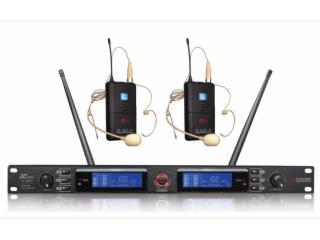 耳麦无线话筒(一拖二) 帝琪/DIQI-DI-3800图片