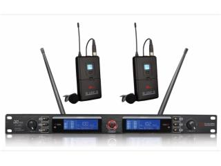 领夹无线话筒(一拖二) 帝琪/DIQI-DI-3800图片