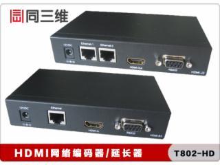 同三维T802-HD-同三维T802-HD HDMI网络延长器/放大器 高清音视频传输器