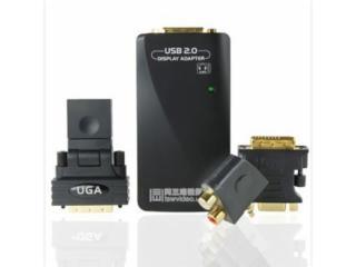 T701-T701 带音频USB显卡,USB转VGA/HDMI/DVI