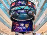LG巨幅OLED视频墙落户印度购物中心