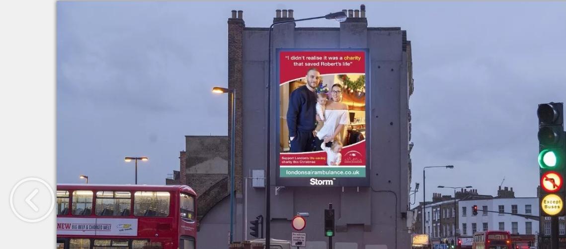 将户外广告连接慈善公益