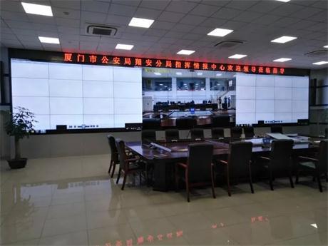 科技强警 飞利浦商显入驻公安指挥情报中心