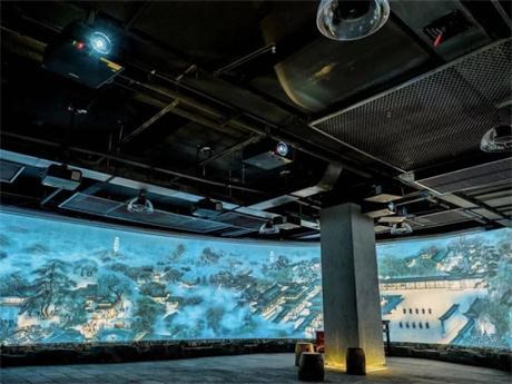 Vivitek(丽讯)打造亚洲第一个互动数字长卷 助力云南丽江纳西文化传播
