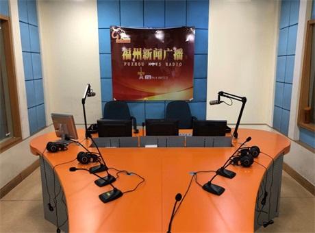 有福之州 - 安恒利建設福州人民廣播電臺的總控與直播間音頻網絡