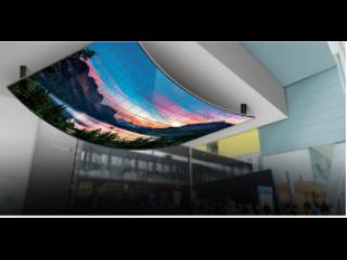 55EF5C-赛普Samplex OLED开放型曲面标牌显示器55EF5C