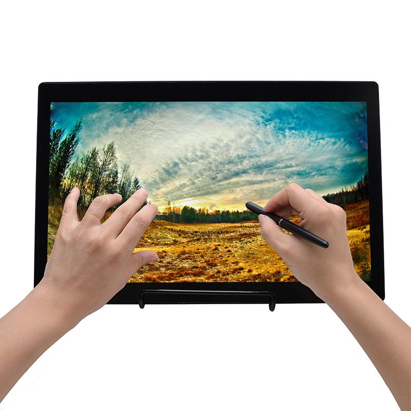 供应拓见ACCU高清15.6寸电磁电容双模液晶触控屏书写屏