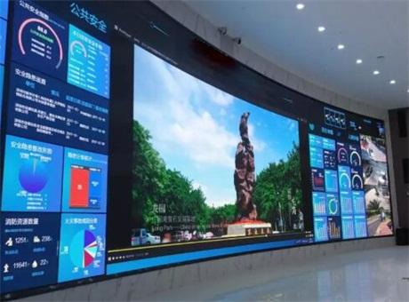 艾比森  深度解读全球最大智慧城市小间距LED显示系统