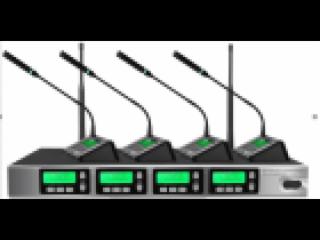 RU400-Meloarte无线会议一拖四(桌面型 无线话筒)