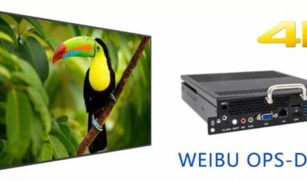 微步OPS-DP300助力电子白板全面进入4K高清时代