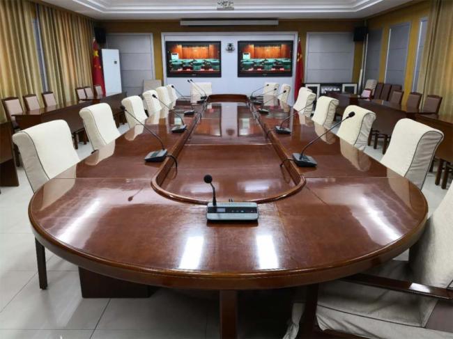 河北省沧州市委采用HUAIN/华音全数字会议系统