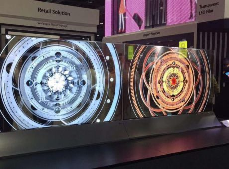 LG携OLED系列及OLED透明屏迪拜展
